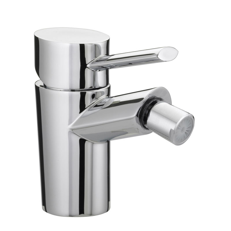 Bristan - Oval Bidet Mixer with Pop-up Waste - Chrome - OL-BID-C Large Image