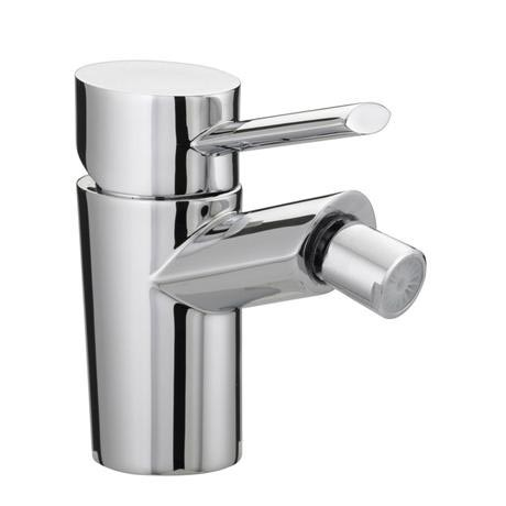 Bristan - Oval Bidet Mixer with Pop-up Waste - Chrome - OL-BID-C