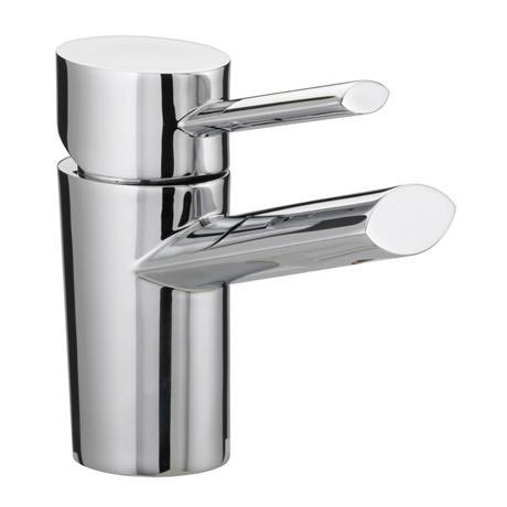 Bristan - Oval Basin Mixer with Eco-Click (no waste) - Chrome - OL-EBASNW-C
