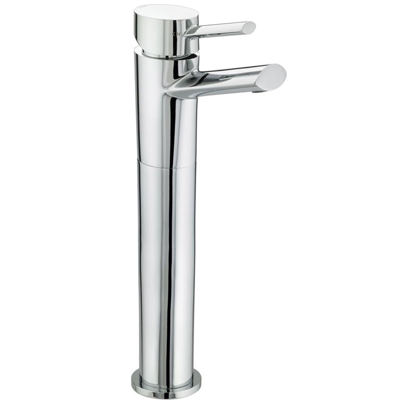 Bristan - Oval Tall Basin Mixer (no waste) - Chrome - OL-TBAS-C Large Image