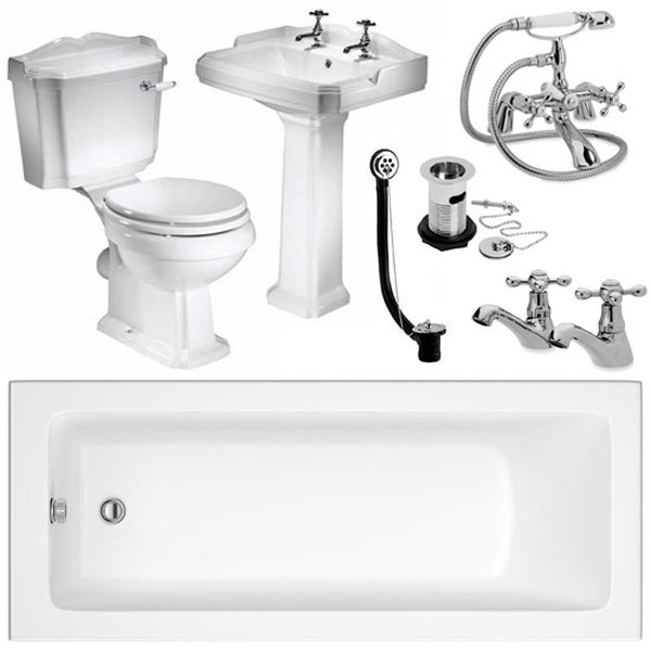 Oxford 1600 Complete Bathroom Package Large Image