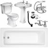 Oxford 1600 Complete Bathroom Package profile small image view 1