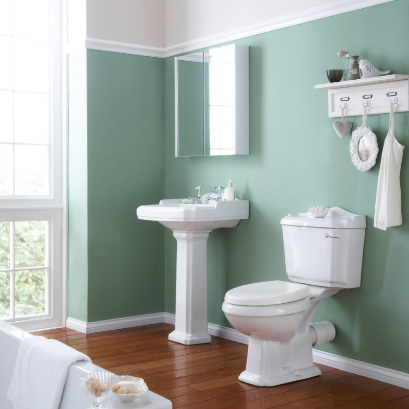 Oxford Complete Traditional Bathroom Package Profile Large Image