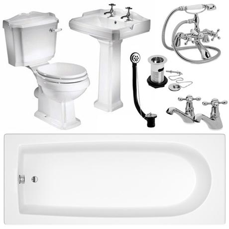 Oxford Complete Traditional Bathroom Package