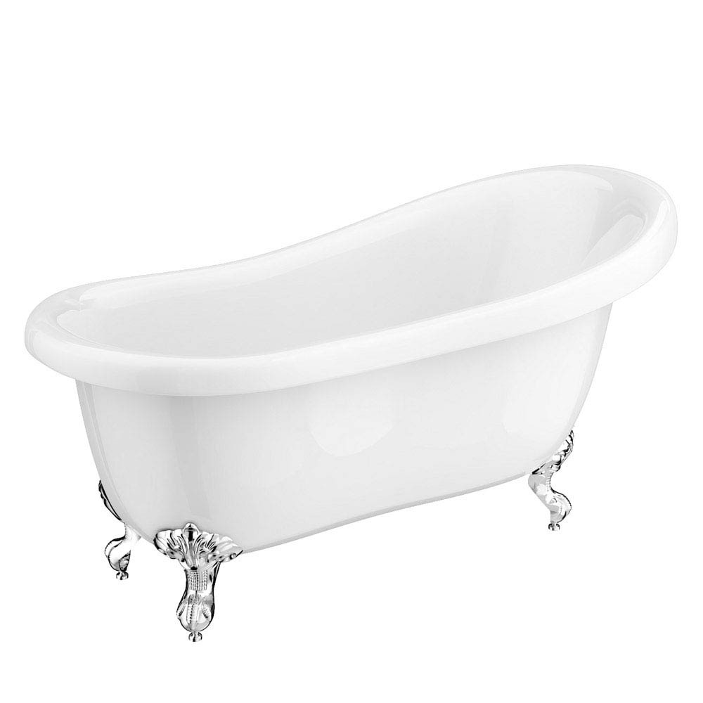 Oxford Traditional Free Standing Roll Top Slipper Bath Suite profile large image view 5