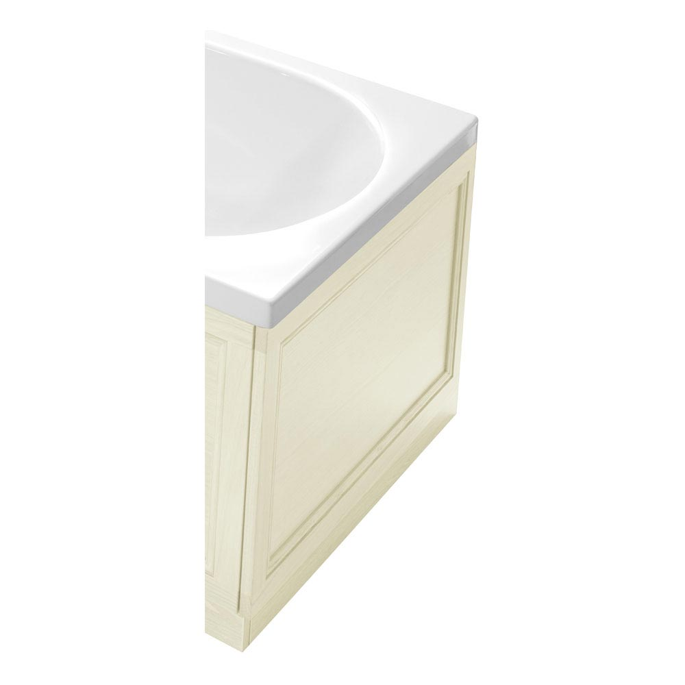 Heritage 800mm Classic End Bath Panel - Various Colour Options Large Image
