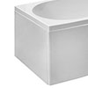 End Panel for Cast Space Saving Bath profile small image view 1