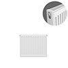 Type 21 H400 x W400mm Double Panel Single Convector Radiator - P404K profile small image view 1