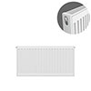 Type 21 H400 x W700mm Double Panel Single Convector Radiator - P407K profile small image view 1
