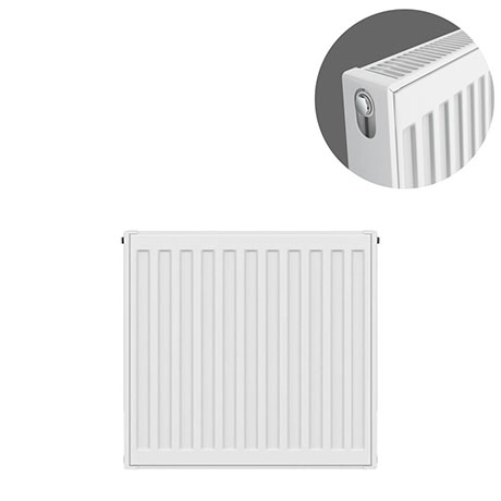 Type 21 H500 x W400mm Double Panel Single Convector Radiator - P504K