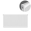 Type 21 H500 x W700mm Double Panel Single Convector Radiator - P507K profile small image view 1