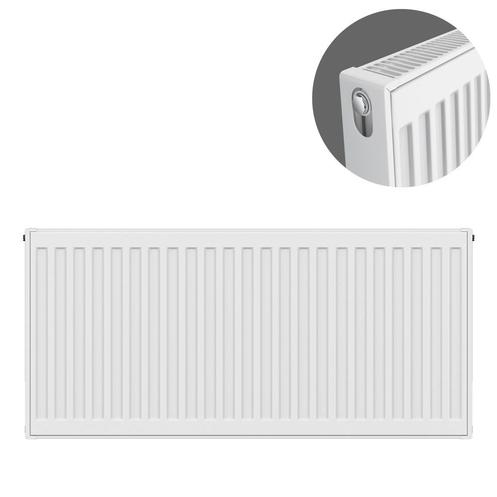 Type 21 H500 x W800mm Double Panel Single Convector Radiator - P508K