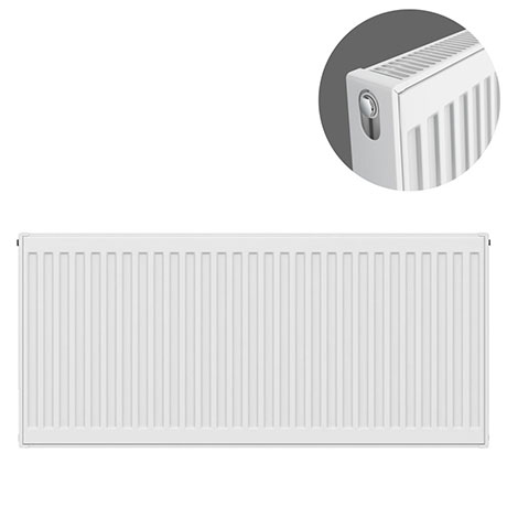 Type 21 H500 x W1000mm Double Panel Single Convector Radiator - P510K