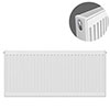 Type 21 H500 x W1000mm Double Panel Single Convector Radiator - P510K profile small image view 1