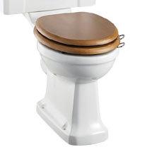 Burlington Close Coupled Pan (excluding Seat) Medium Image