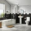 Pro 600 Modern Shower Bath Suite profile small image view 2