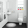 Pro 600 Modern Cloakroom Suite profile small image view 1