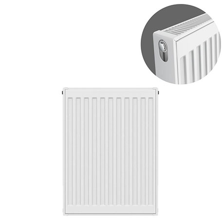 Type 21 H600 x W400mm Double Panel Single Convector Radiator - P604K
