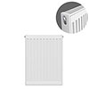 Type 21 H600 x W400mm Double Panel Single Convector Radiator - P604K profile small image view 1