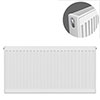 Type 21 H600 x W900mm Double Panel Single Convector Radiator - P609K profile small image view 1