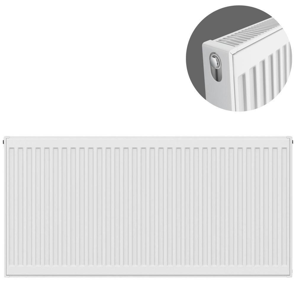 Type 21 H600 x W1100mm Double Panel Single Convector Radiator - P611K