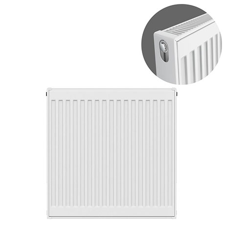 Type 21 H750 x W600mm Double Panel Single Convector Radiator - P706K