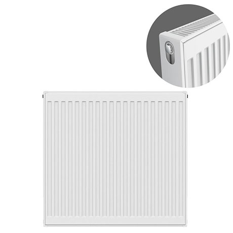 Type 21 H750 x W700mm Double Panel Single Convector Radiator - P707K