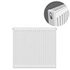 Type 21 H750 x W700mm Double Panel Single Convector Radiator - P707K profile small image view 1