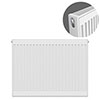 Type 21 H750 x W800mm Double Panel Single Convector Radiator - P708K profile small image view 1
