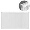 Type 21 H750 x W900mm Double Panel Single Convector Radiator - P709K profile small image view 1