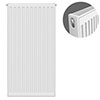 Type 21 H900 x W400mm Double Panel Single Convector Radiator - P904K profile small image view 1