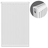 Type 21 H900 x W600mm Double Panel Single Convector Radiator - P906K profile small image view 1