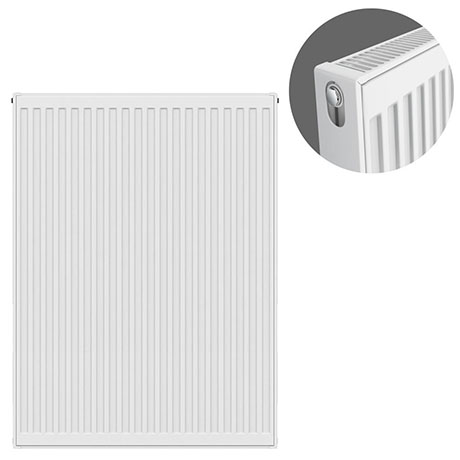 Type 21 H900 x W700mm Double Panel Single Convector Radiator - P907K