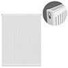 Type 21 H900 x W700mm Double Panel Single Convector Radiator - P907K profile small image view 1
