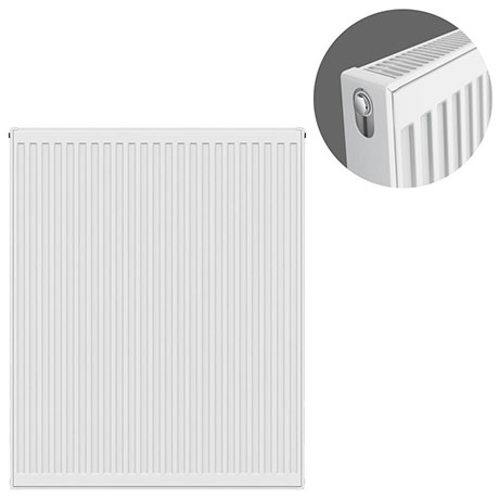 Type 21 H900 x W800mm Double Panel Single Convector Radiator - P908K