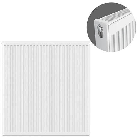 Type 21 H900 x W900mm Double Panel Single Convector Radiator - P909K