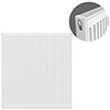 Type 21 H900 x W900mm Double Panel Single Convector Radiator - P909K profile small image view 1