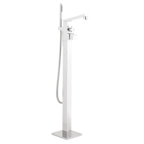 Hudson Reed Kubix Freestanding Thermostatic Bath Shower Mixer - PA332