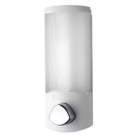 Croydex Euro Soap Dispenser Uno - White - PA660522 profile large image view 1