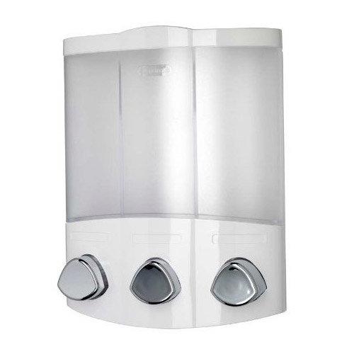 Croydex Euro Soap Dispenser Trio - White - PA660722 Large Image