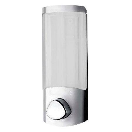 Croydex Euro Soap Dispenser Uno - Chrome - PA660841 Large Image