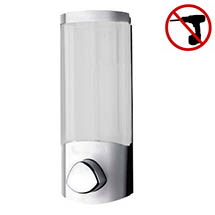 Croydex Euro Soap Dispenser Uno - Chrome - PA660841 Medium Image