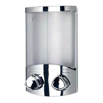 Croydex Euro Soap Dispenser Duo - Chrome - A660941 profile large image view 1