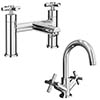 Pablo Modern Tap Package (Bath + Basin Tap) profile small image view 1