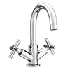 Pablo Modern Basin Mixer with Click Clack Waste - Chrome profile small image view 1