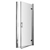 Pacific Hinged Shower Door - Various Sizes profile small image view 1