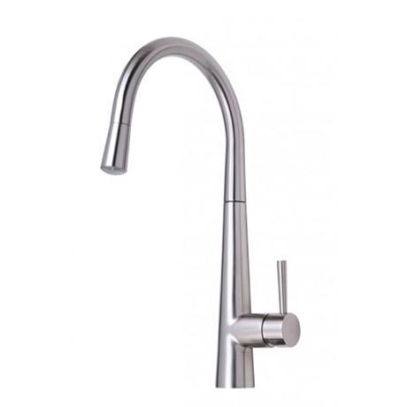 Mayfair - Palazzo GLO Mono Kitchen Tap with Pull Out Head - Brushed Nickel - KIT165