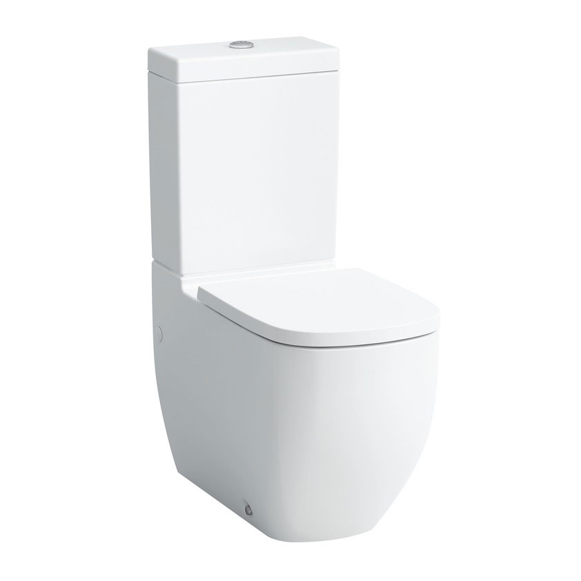 Laufen - Palomba Close Coupled Toilet - PALOWC1 Large Image