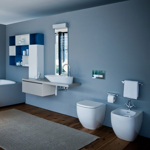 Laufen - Palomba Back to Wall Pan with Toilet Seat - PALOWC2 Profile Large Image