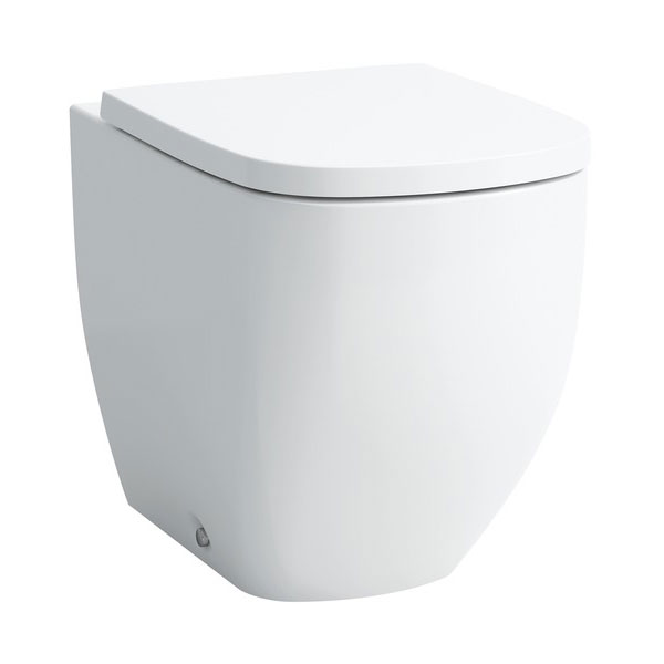 Laufen - Palomba Back to Wall Pan with Toilet Seat - PALOWC2 Large Image